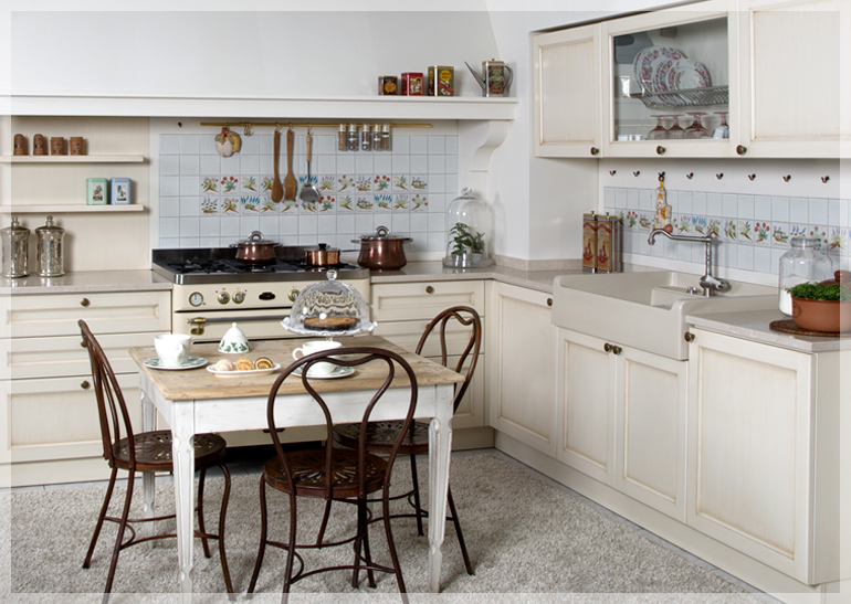 Cucine in muratura brescia cucine classiche - Cucine classiche chiare ...