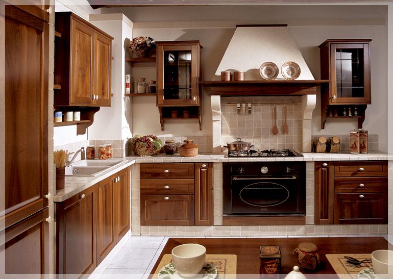 Cucine in muratura brescia cucine classiche - Colori pareti cucina classica ...