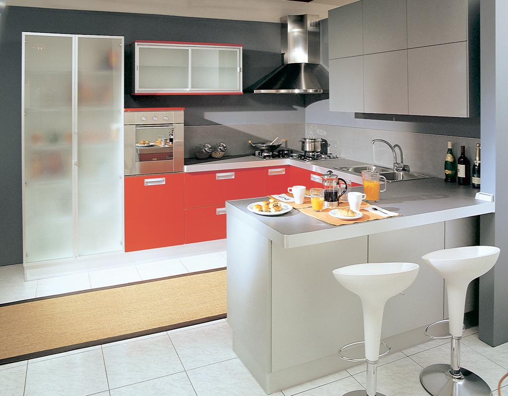 Cucine piccole economiche narrow kitchen with ikea - Cucine piccole economiche ...