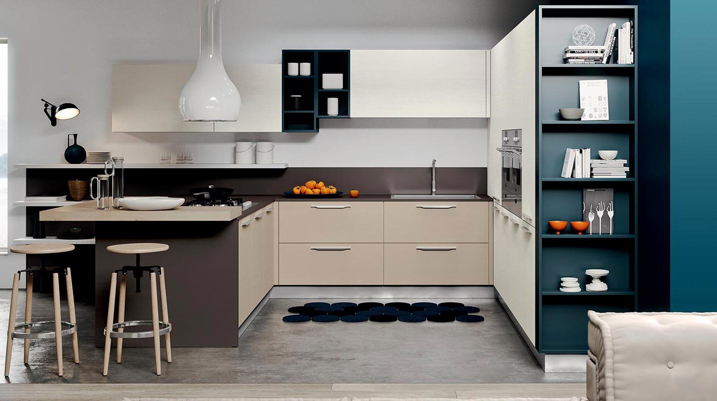Cucine moderne brescia cucine con isola - Pensile angolare cucina ...