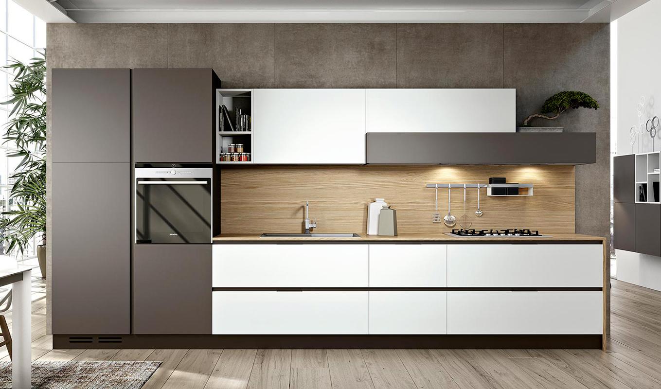 Concept Cucina Moderna Con Isola E Mobili Wenge Interior Design : Cucine moderne wenge e bianco la scelta giusta è variata
