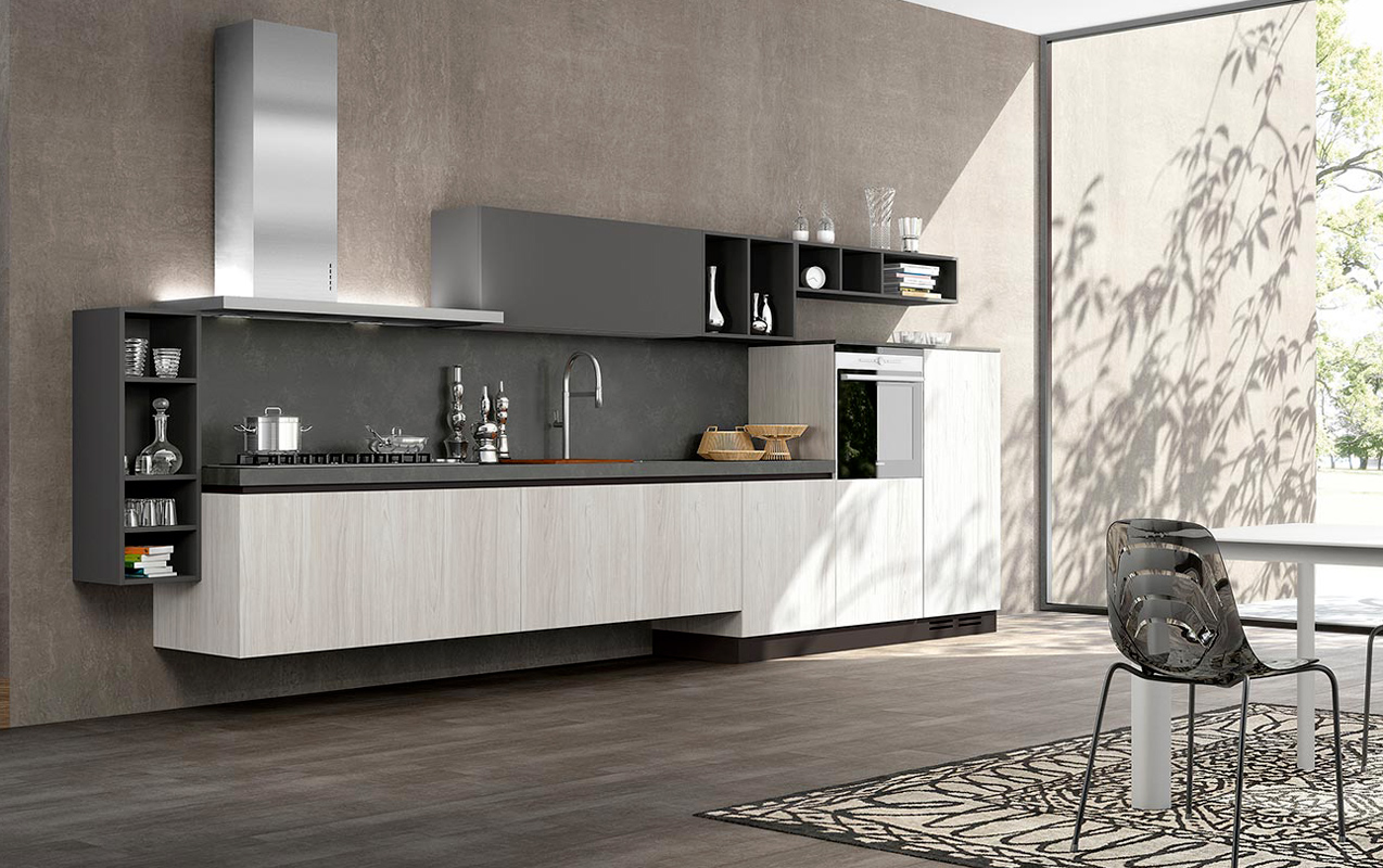 Beautiful Cucine Piccole Moderne Images - Amazing House Design ...